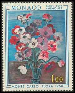 Monaco 683 Mint VF LH