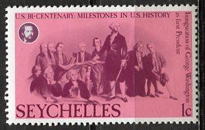 Seychelles: 1976 Sc. #370, */MH Single Stamp