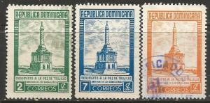 Dominican Republic 458-460 VFU L112