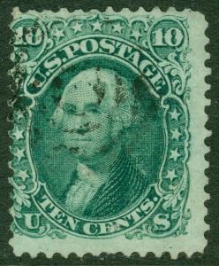 EDW1949SELL : USA 1861 Scott #68 Used. Light cancel. Catalog $55.00.