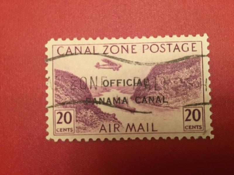 US Canal Zone #O6 VF used