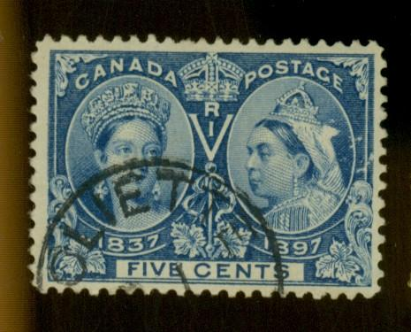 Canada #54 Used VF Cat$45