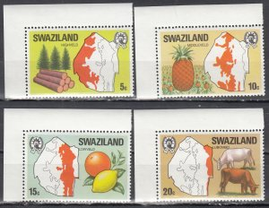 Swaziland, Sc 289-292, MNH, 1977, Industries