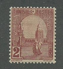 Tunisia Scott Catalog Number 30 Used Issued in the year 1906