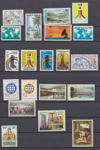 J29713, various ca 1980,s french colonies sets & sets of 1 mnh lot #