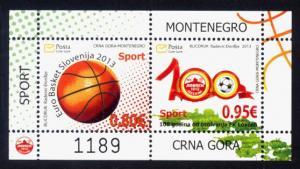 Montenegro Sc# 345a MNH Sports (S/S)