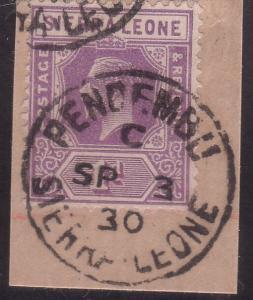 SIERRA LEONE 1930 piece PENDEMBU cds.......................................60252