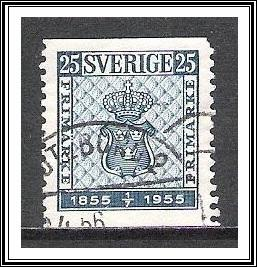Sweden #474 Coat of Arms Used