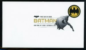 U.S.  Batman  Scott 4928 - 4935 Set of 8 DCP Cancel First Day Covers