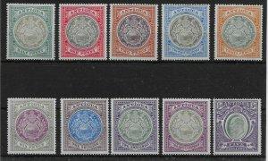 ANTIGUA SG31/40 1903-7 DEFINITIVE SET MTD MINT