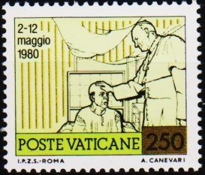 Vatican City. 1981 250L S.G.773 Unmounted Mint