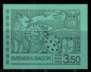 Sweden Scott 841a Mint NH booklet (Catalog Value $20.00)