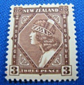 NEW ZEALAND  1936  -  SCOTT # 208  -   MLH   (Hn11)