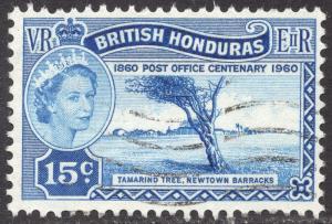 BRITISH HONDURAS Scott 158