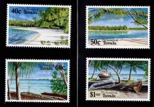 TUVALU Scott 658-661 MNH** Beach set 1994