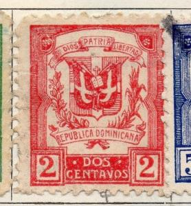 Dominican Republic 1924-26 Early Issue Fine Mint Hinged 2c. 104131