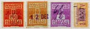 (I.B) France Revenue : Alsace-Lorraine Pensions Collection