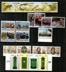 Ireland Scott 982a // 1168 Mint NH sets (Catalog Value $49.50)