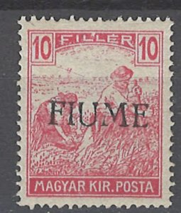 COLLECTION LOT # 2014 FIUME #7a MNH 1918 CV= $100