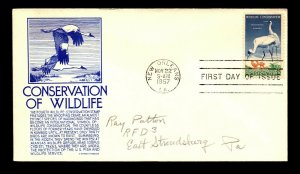 SC# 1098 FDC / Anderson Purple Cachet - N506