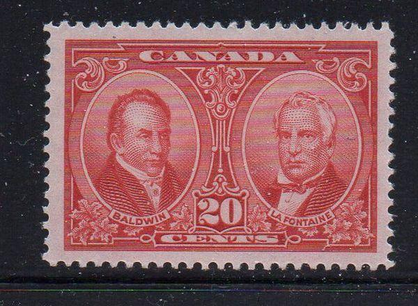 Canada Sc 148 1927 20c Baldwin & Lafontaine stamp mint