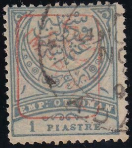 Turkey 1891 SC P12 Used