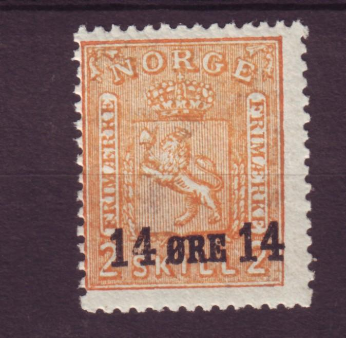 J12671 JLstamps 1929 norway mnh #149 ovpt