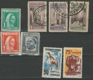Spanish Tangier telegraph stamps and more