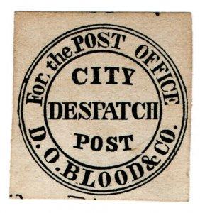 (I.B) US Local Post : Blood's City Despatch Post
