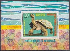 1977 Guinea Equatorial 1255/B273 Reptiles / Turtles 6,00 €