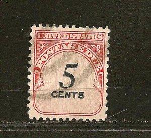 USA J93 Postage Due Used