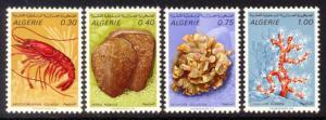 Algeria Sc# 435-8 MNH Marine Life