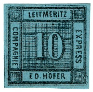 (I.B) Germany Local Post : Express Packet Post 10nkr (Ed Hofer)