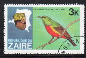 Zaire 903 - CTO-NH - Bee-Eater? (Bird)