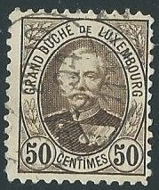 Luxembourg Scott Catalog Numbers 66 and 198 Used