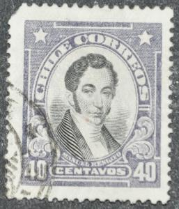 DYNAMITE Stamps: Chile Scott #156 – USED