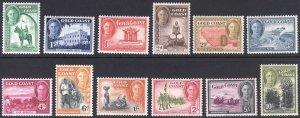 Gold Coast 1948 1/2d-10s Pictorial SG 135-146 Sc 130-141 VLMM/MVLH Cat £70($88)