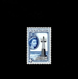 CAYMAN IS - 1953 - QE II - LIGHTHOUSE - SOUTH SOUND - # 142 - SCAN B MNH SINGLE!