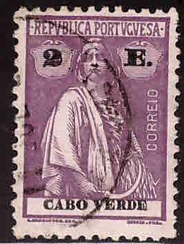 Cape Verde Scott 183s Used Ceres stamp