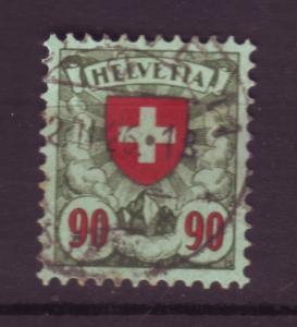 J18528 JLstamps 1924 switzerland used #200 cross