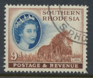 Southern Rhodesia  SG 85  SC# 88  Used  Lion  see scans