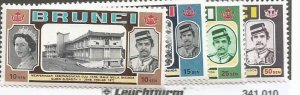 Brunei Scott #176-9*nh  (1977)