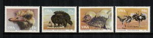 South West Africa MNH 536-9 Ostriches 1985