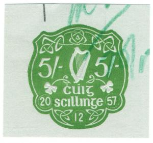 (I.B) Ireland Revenue : Impressed Duty 5/-
