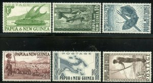PAPUA NEW GUINEA  SCOTT #122/36  MINT NEVER HINGED SCOTT VALUE $160.00
