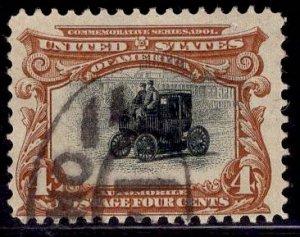 US Stamp #296 4c Pan-American USED SCV $18.00