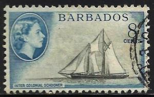 Barbados 1953 Scott# 241 Used