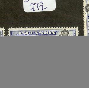 ASCENSION (B1201) KGVI  4D  SG42C    MOG