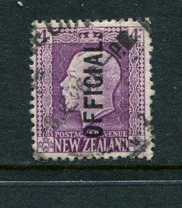 New Zealand #O52 Used