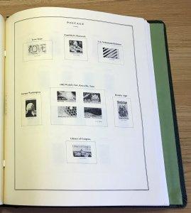Scott National Album: 2 Post; 1929 -1988 Commemoratives & Definitives